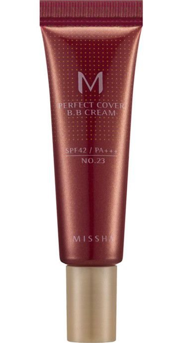 MISSHA Perfect Cover BB Cream N23 Natural Beige 10ml - TRAVEL SIZE
