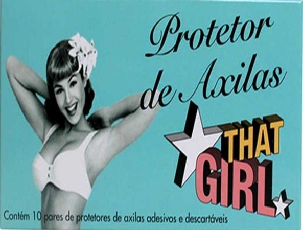THAT GIRL PROTETOR DE AXILAS C/10 PARES