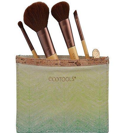 ECOTOOLS 1213 Travel Set com Necessaire Kit c/4 peças