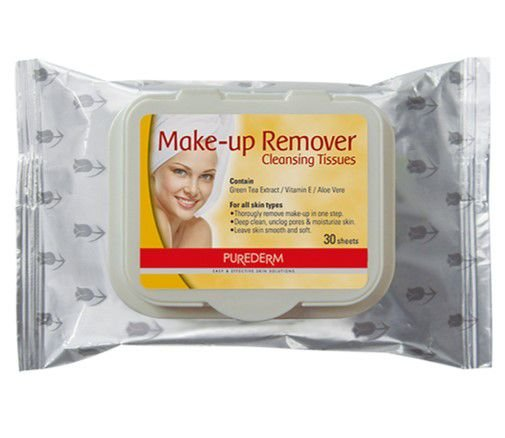PUREDERM Make-up Remover c/30 unidades