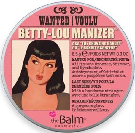 THE BALM Betty Lou Manizer All in One Bronzer, Shimmer and Eyeshadow