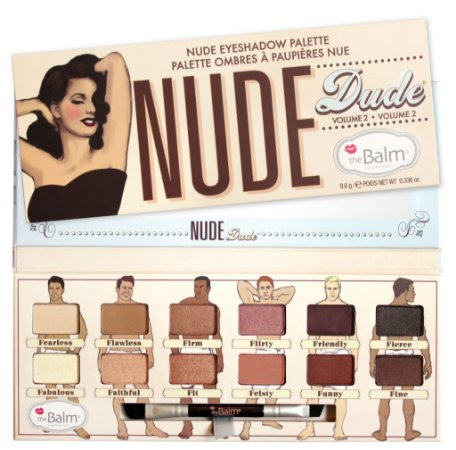 THE BALM PALLET NUDE DUDE VOL 2 - PALETA COM 12 SOMBRAS