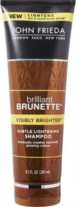 JOHN FRIEDA Brilliant Brunette Visibly Brighter Subtle Lightening Shampoo 245ml