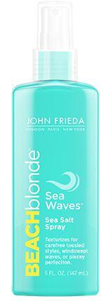 JOHN FRIEDA BEACH BLOND SEA WAVES SEA SALT SPRAY 147ML