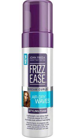 JOHN FRIEDA FRIZZ EASE DREAM CURLS AIR DRY WAVES FOAM 147ML - MOUSSE