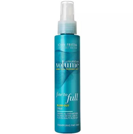 JOHN FRIEDA LUXURIOUS VOLUME FINE TO FULL BLOW OUT SPRAY 118ML
