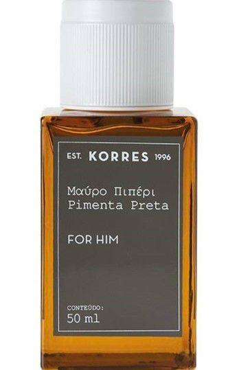 KORRES EAU DE COLOGNE PIMENTA PRETA FOR HIM 50ML