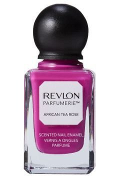 REVLON SCENTED NAIL ENAMEL PARFUMERIE AFRICAN TEA ROSE
