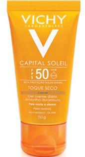 VICHY Capital Soleil FPS50 Toque Seco Com Cor 50gr