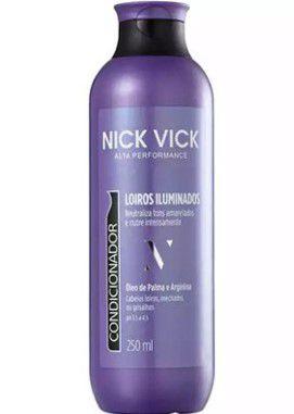 NICK & VICK PRO HAIR LOIROS ILUMINADOS CONDICIONADOR 250ML