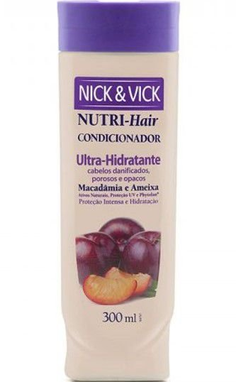 NICK & VICK NUTRI HAIR ULTRA HIDRATANTE CONDICIONADOR 300ML