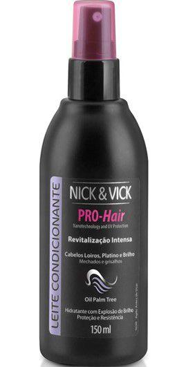 NICK & VICK PRO HAIR LOIROS ILUMINADOS LEITE CONDICIONANTE 150ML
