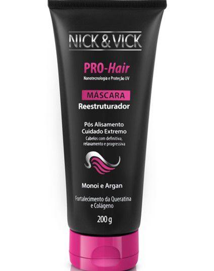 NICK & VICK PRO HAIR REESTRUTURADOR MÁSCARA 200G