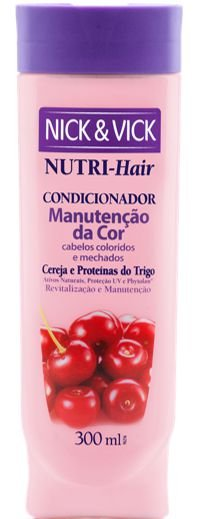 NICK & VICK NUTRI HAIR MANUTENÇÃO DA COR CONDICIONADOR 300ML