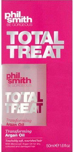 PHIL SMITH TOTAL TREAT TRANSFORMING ARGAN OIL 50ML - ÓLEO FINALIZADOR