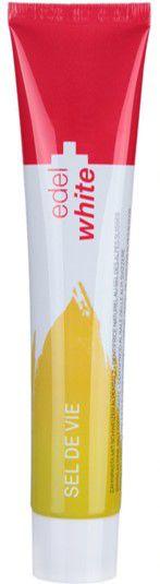 EDEL WHITE Toothpaste Sel de Vie 75ml Sal dos Alpes Suíços