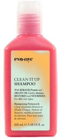 EVA NYC CLEAN IT UP - SHAMPOO 100ML TRAVEL SIZE