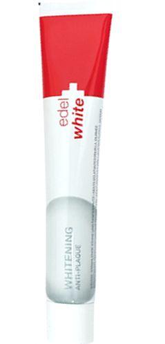 EDEL WHITE Toothpaste Whitening 75ml Antiplaca e Branqueadora