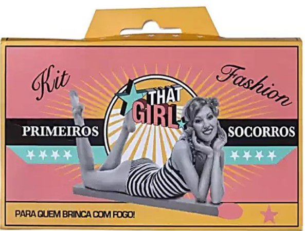 THAT GIRL KIT FASHION PRIMEIROS SOCORROS - KIT C/7