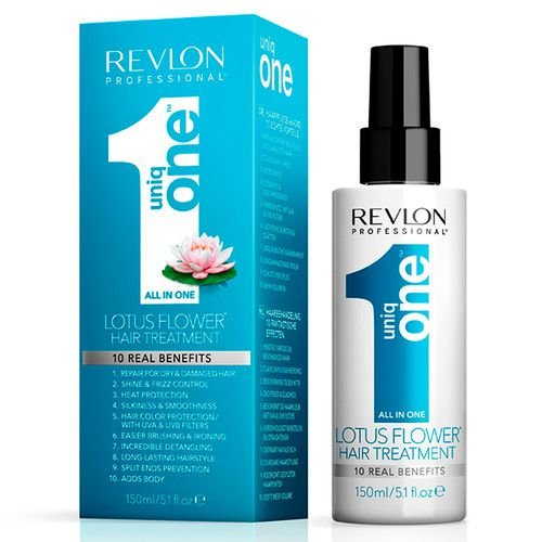 REVLON UNIQ ONE HAIR TREATMENT ALL IN ONE LOTUS FLOWER 150ML - LEAVE IN