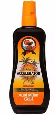 AUSTRALIAN GOLD Accelerator Dark Tanning Spray Gel 237ml