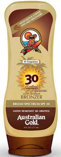AUSTRALIAN GOLD FPS30 Kona Coffe Lotion Sunscreen 237ml