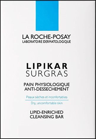 LA ROCHE-POSAY Lipikar Surgras Sabonete Barra Fisiológico Antirressecamento 80g