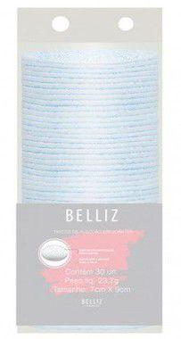 BELLIZ Discos de Algodão Esfoliantes c/30 unidades