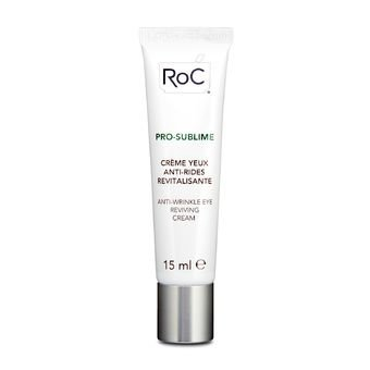 ROC PRO SUBLIME ANTI WRINKLE EYE REVIVING CREAM 15ML - CREME ANTI RUGAS PARA ÁREA DOS OLHOS