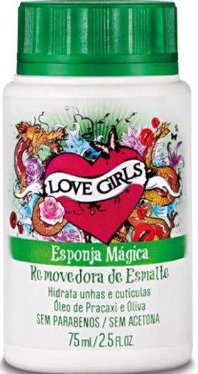 LOVE GIRLS ESPONJA MÁGICA ÓLEO DE PRACAXI & OLIVA 75ML