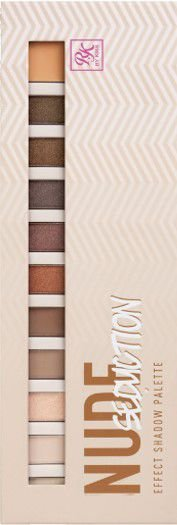 KISS NEW YORK RK Effect Shadow Palette Nude Seduction