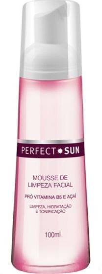 PERFECT SUN MOUSSE DE LIMPEZA FACIAL 100ML