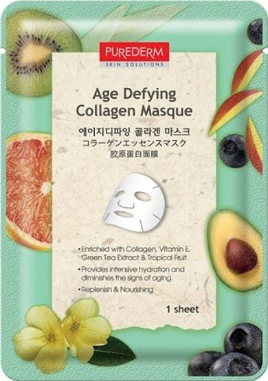 PUREDERM Age Defying Collagen Masque - Rejuvenescedora de Colágeno