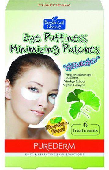 PUREDERM Eye Puffiness Minimizing Patches c/6 unidades