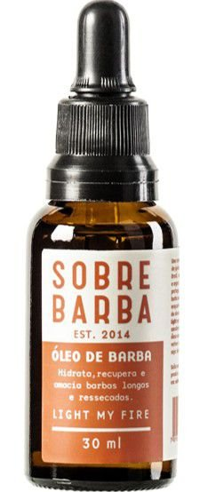 SOBREBARBA Óleo de Barba Light My Fire 30ml