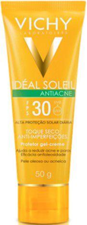VICHY Idéa Soleil FPS30 Toque Seco Gel Creme Antiacne 50gr