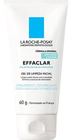 LA ROCHE-POSAY Effaclar Gel de Limpeza Facial 60g