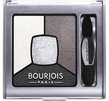 BOURJOIS Quad Eyeshadow Smoky Stories 01 Grey And Night