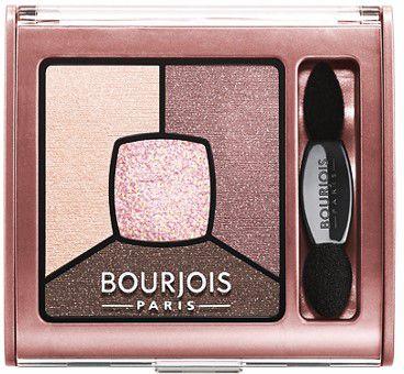 BOURJOIS Quad Eyeshadow Smoky Stories 02 Over Rose