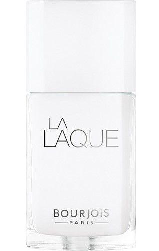 BOURJOIS La Laque Nail Enamel 01 White Spirit