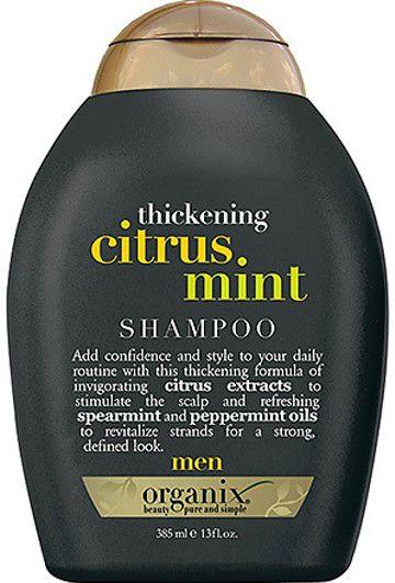 ORGANIX Men Citrus Mint 3 in 1 Shampoo + Conditioner + Body Wash 385ml