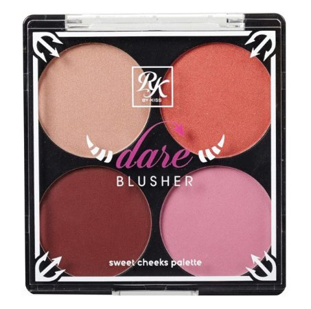 KISS NEW YORK RK Dare Blusher Sweet Cheeks Palette Partyn' Dare