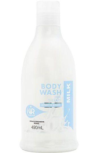 NIR Body Wash Milk Therapy 490ml