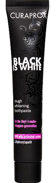 CURAPROX Black is White 90ml Creme Dental Clareador