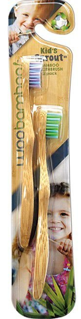 WOOBAMBOO Escova Dental Kid's Sprout c/2