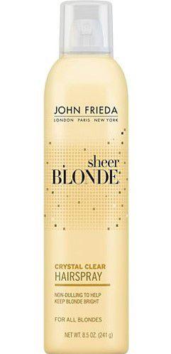 JOHN FRIEDA Sheer Blonde Crystal Clear Hairspray 241g