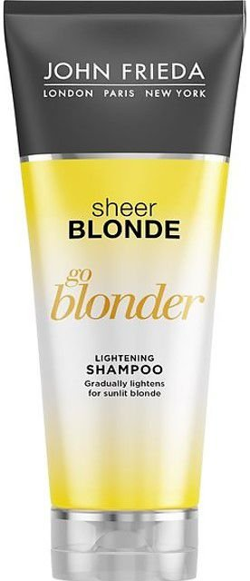 JOHN FRIEDA Sheer Blonde Go Blonder Lightening Shampoo 245ml
