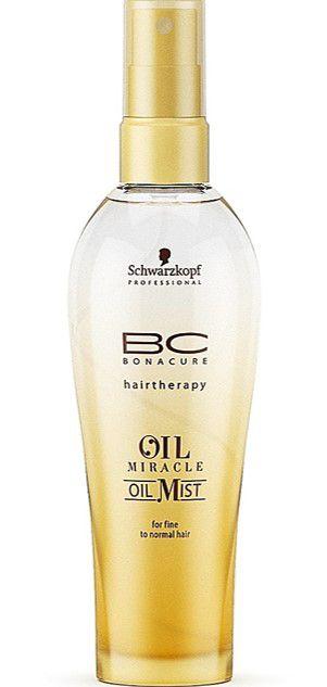 SCHWARZKOPF BC Oil Mist Spray Reparador de Brilho para Cabelos Finos a Normais Oil Miracle 100ml