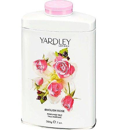 YARDLEY OF LONDON Talco Perfumado English Rose 200g