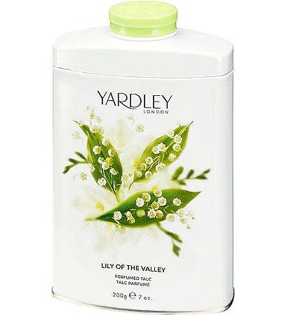 YARDLEY OF LONDON Talco Perfumado Lily of the Valley 200g